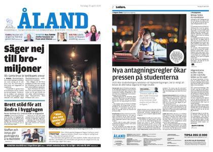 Ålandstidningen – 25 april 2019