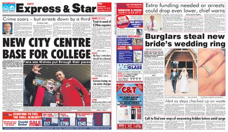 Express and Star City Edition – October 31, 2018