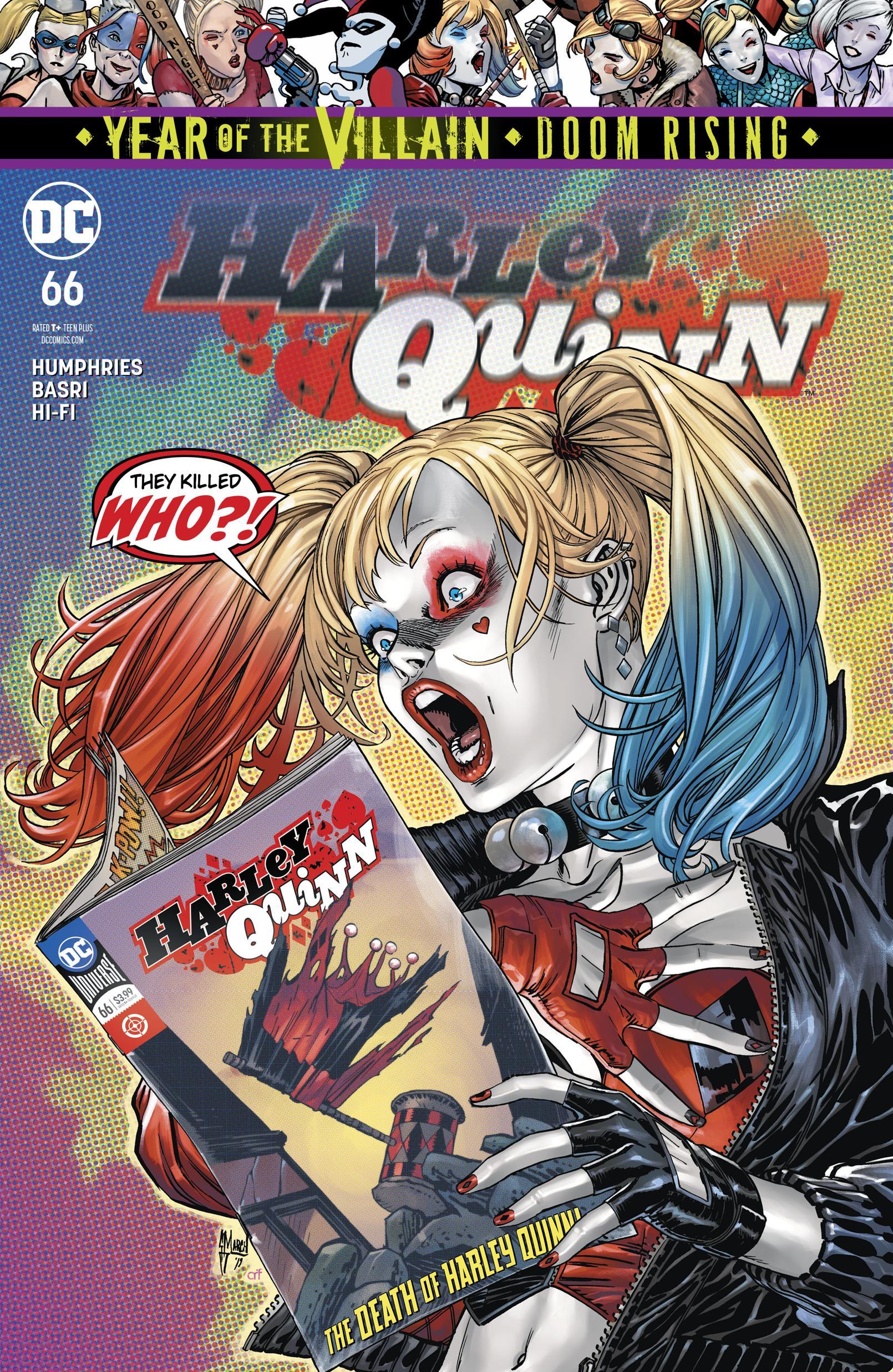 Harley Quinn 066 2019 Digital Zone