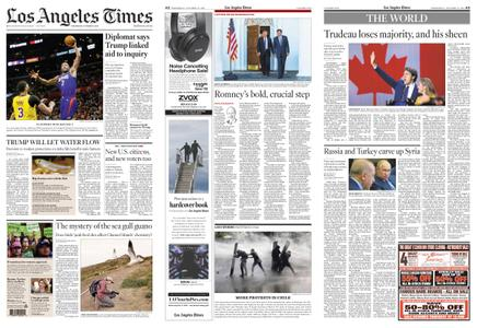 Los Angeles Times – October 23, 2019