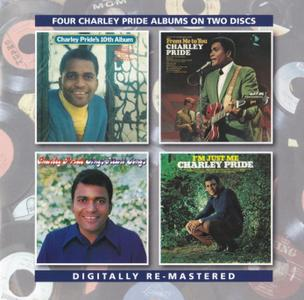 Charley Pride - Four More Charley Pride Albums (1970-1971) {2CD Set BGO Records BGOCD1201 rel 2015}