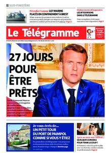 Le Télégramme Ouest Cornouaille – 14 avril 2020