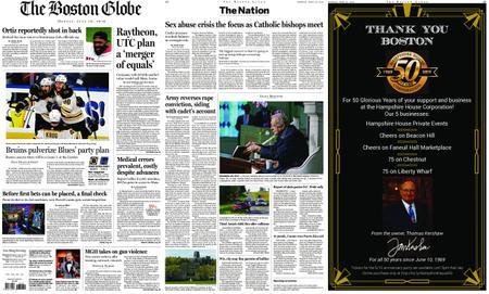 The Boston Globe – June 10, 2019