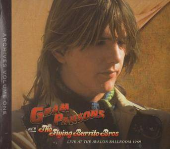 Gram Parsons With The Flying Burrito Bros - Gram Parsons Archives Vol. 1: Live At The Avalon Ballroom 1969 (2007)