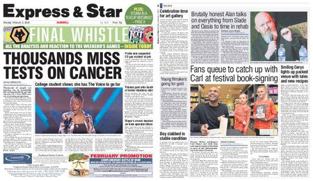 Express and Star Sandwell Edition – February 03, 2020