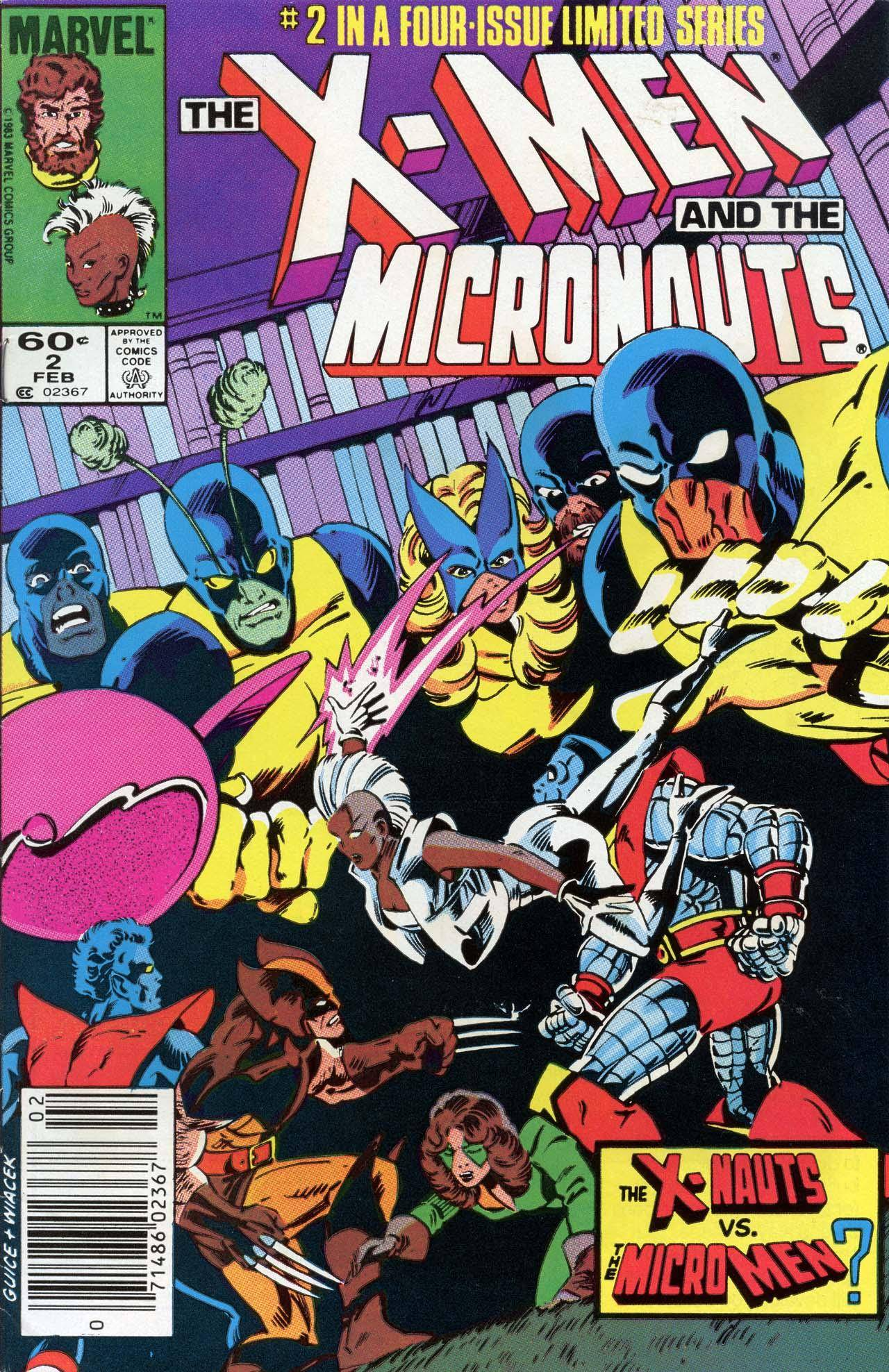 The X-Men and the Micronauts 02 of 4 [Marvel] 1984 FB-DCP c2c