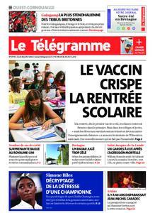 Le Télégramme Ouest Cornouaille – 29 juillet 2021