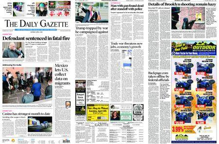 The Daily Gazette – April 07, 2018
