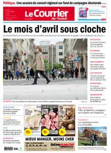 Le Courrier de l'Ouest Cholet – 01 avril 2021