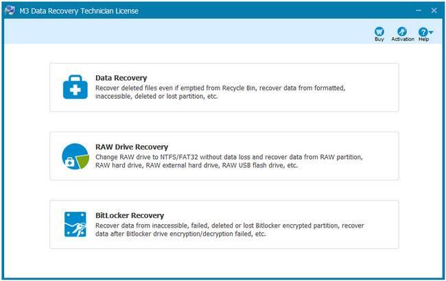 M3 Data Recovery 5.6.8 Professional / Technician License