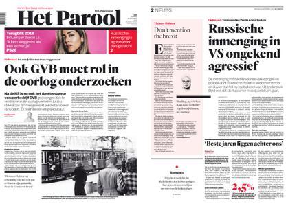 Het Parool – 18 december 2018