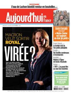 Aujourd'hui en France - 15 Janvier 2020