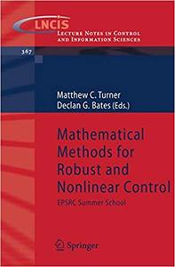 Mathematical Methods for Robust and Nonlinear Control: EPSRC Summer School