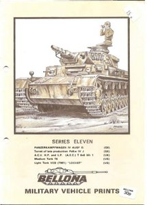 Bellona Military Vehicle Prints: series eleven