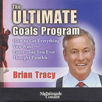 Brian Tracy - Ultimate Goals Program - AUDIO BOOK, 8 CDs, plus workbook