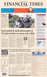 Financial Times Europe – 11 January 2019