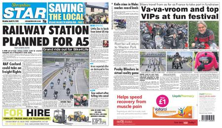 Shropshire Star Shrewsbury Edition – April 29, 2019