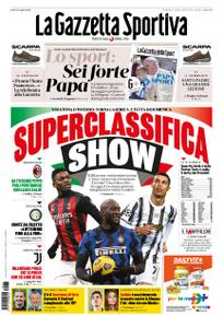 La Gazzetta dello Sport Bergamo – 03 gennaio 2021