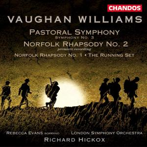 Richard Hickox, London Symphony Orchestra - Vaughan Williams: Pastoral Symphony; Norfolk Rhapsodies (2002)