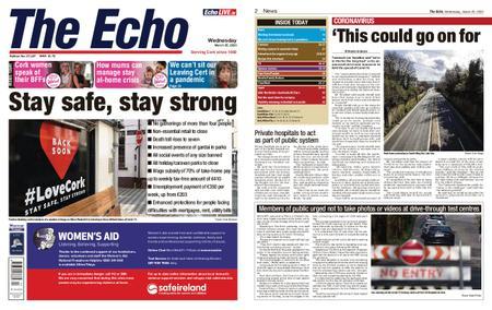 Evening Echo – March 25, 2020