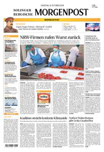 Solinger Morgenpost – 08. Oktober 2019