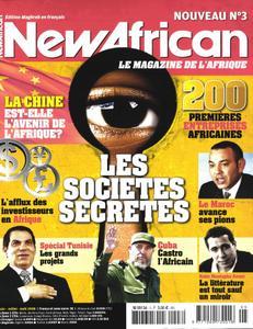 New African, le magazine de l'Afrique - Juin - Juillet - Août 2008