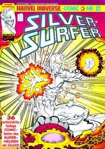 Marvel Universe Comics 22 - Silver Surfer