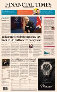 Financial Times Asia - April 6, 2021