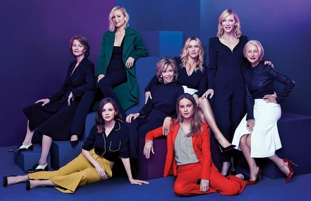 Actress Roundtable by Miller Mobley for The Hollywood Reporter November 2015