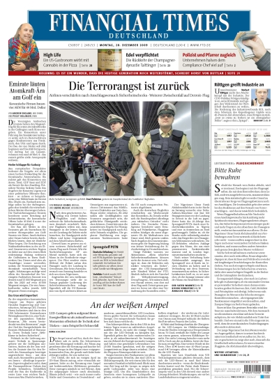 FinancialTimesDeutschland vom 28.12.2009