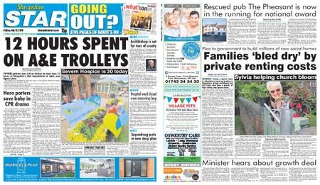 Shropshire Star Shrewsbury Edition – July 12, 2019
