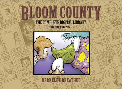 Bloom County The Complete Library Vol 2 1982 1st Printing 2010 RETAiL COMiC eBOOk
