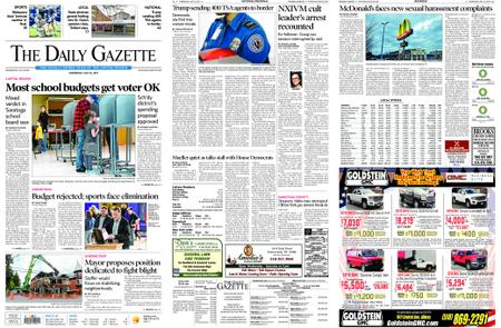 The Daily Gazette – May 22, 2019
