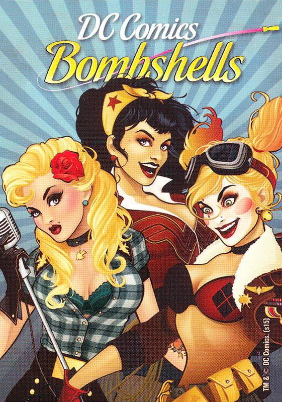 DC Bombshells Playing Cards (2015)