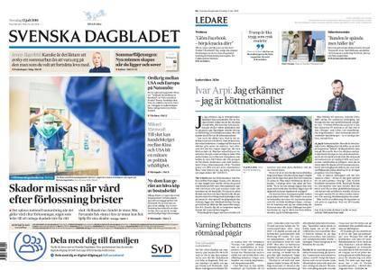 Svenska Dagbladet – 12 juli 2018