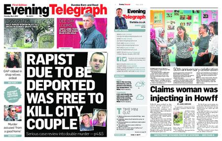 Evening Telegraph First Edition – May 02, 2019