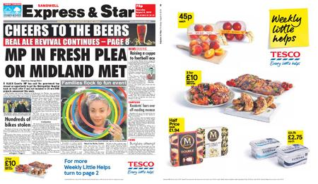 Express and Star Sandwell Edition – August 08, 2019