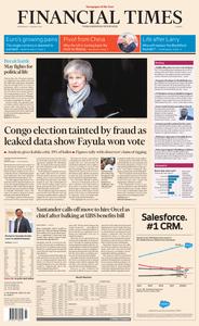 Financial Times Europe – 16 January 2019