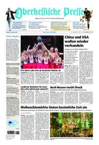 Oberhessische Presse Marburg/Ostkreis - 03. Dezember 2018