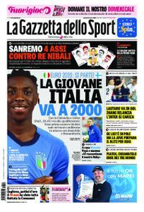 La Gazzetta dello Sport Roma – 23 marzo 2019