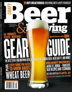Craft Beer & Brewing - May/June 2017