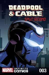 Deadpool  Cable - Split Second Infinite Comic 003 2016 digital