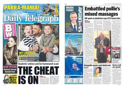 The Daily Telegraph (Sydney) – September 02, 2017