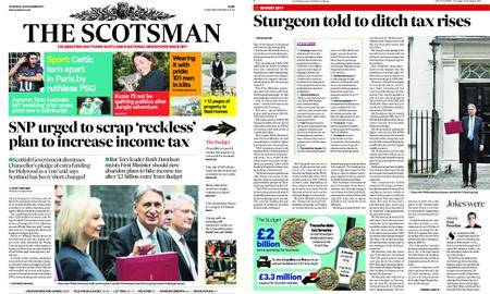 The Scotsman – November 23, 2017