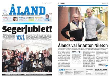 Ålandstidningen – 27 maj 2019