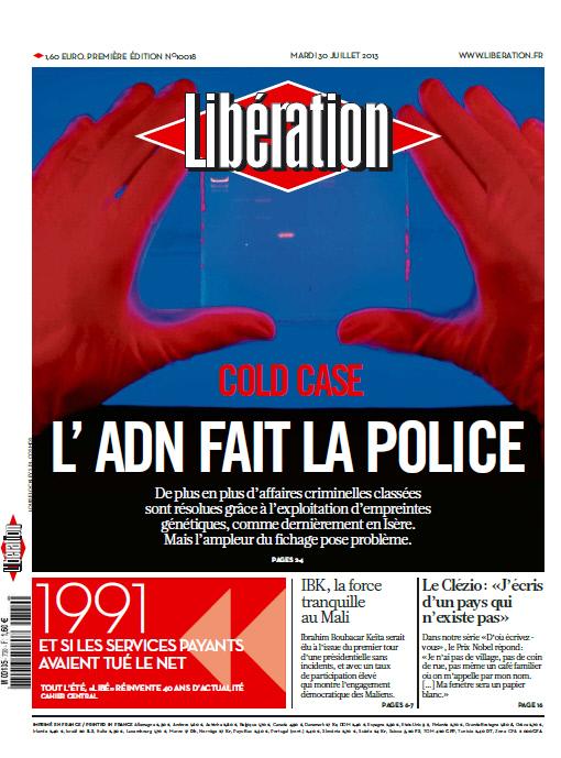 Libération - Mardi 30 Juillet 2013