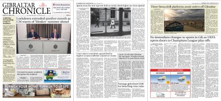 Gibraltar Chronicle – 24 April 2020