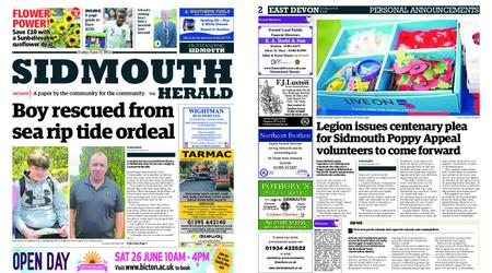 Sidmouth Herald – June 11, 2021