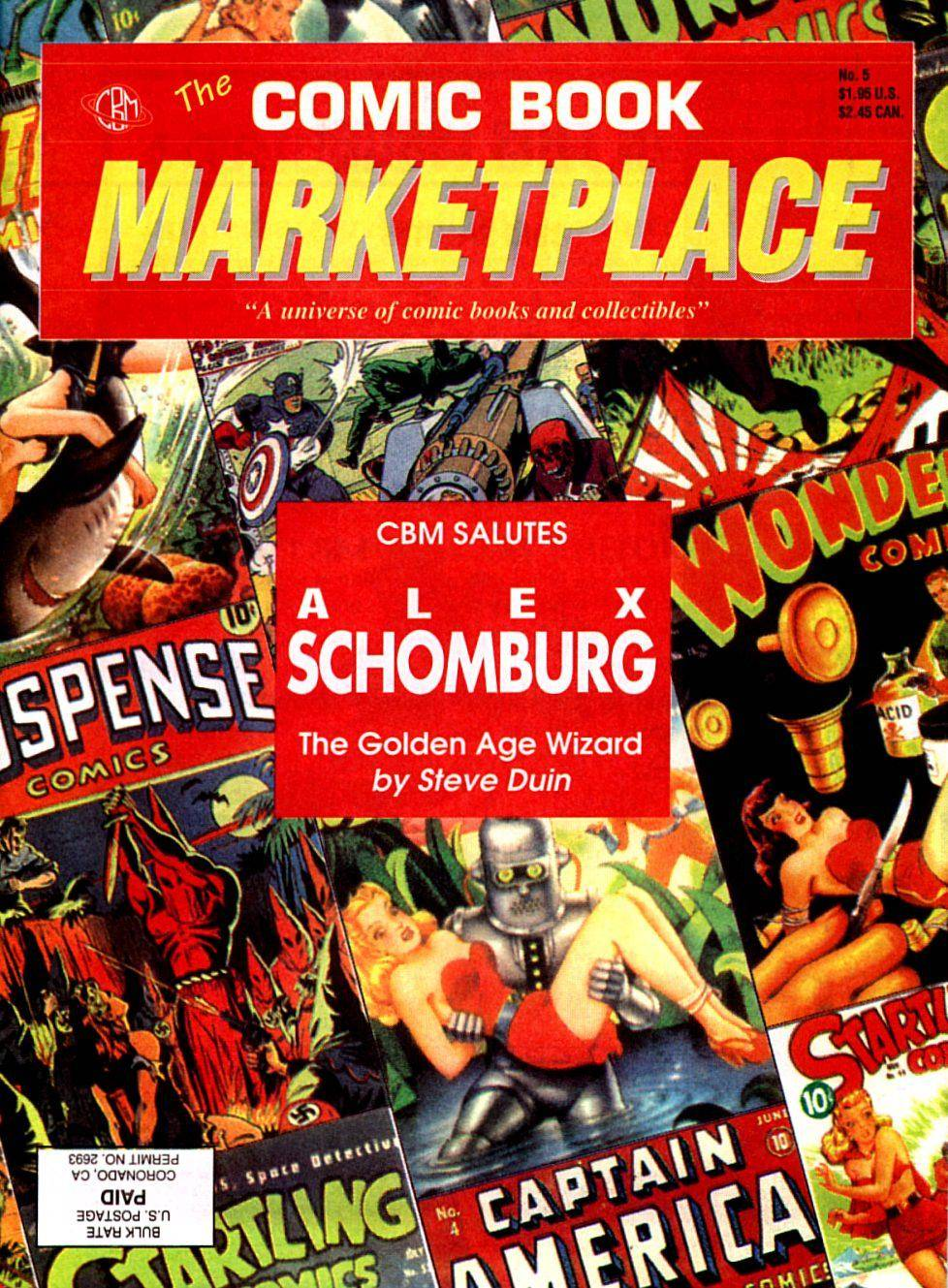 Comic Book Marketplace 005 1991