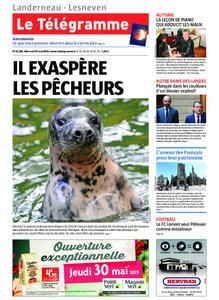 Le Télégramme Landerneau - Lesneven – 29 mai 2019